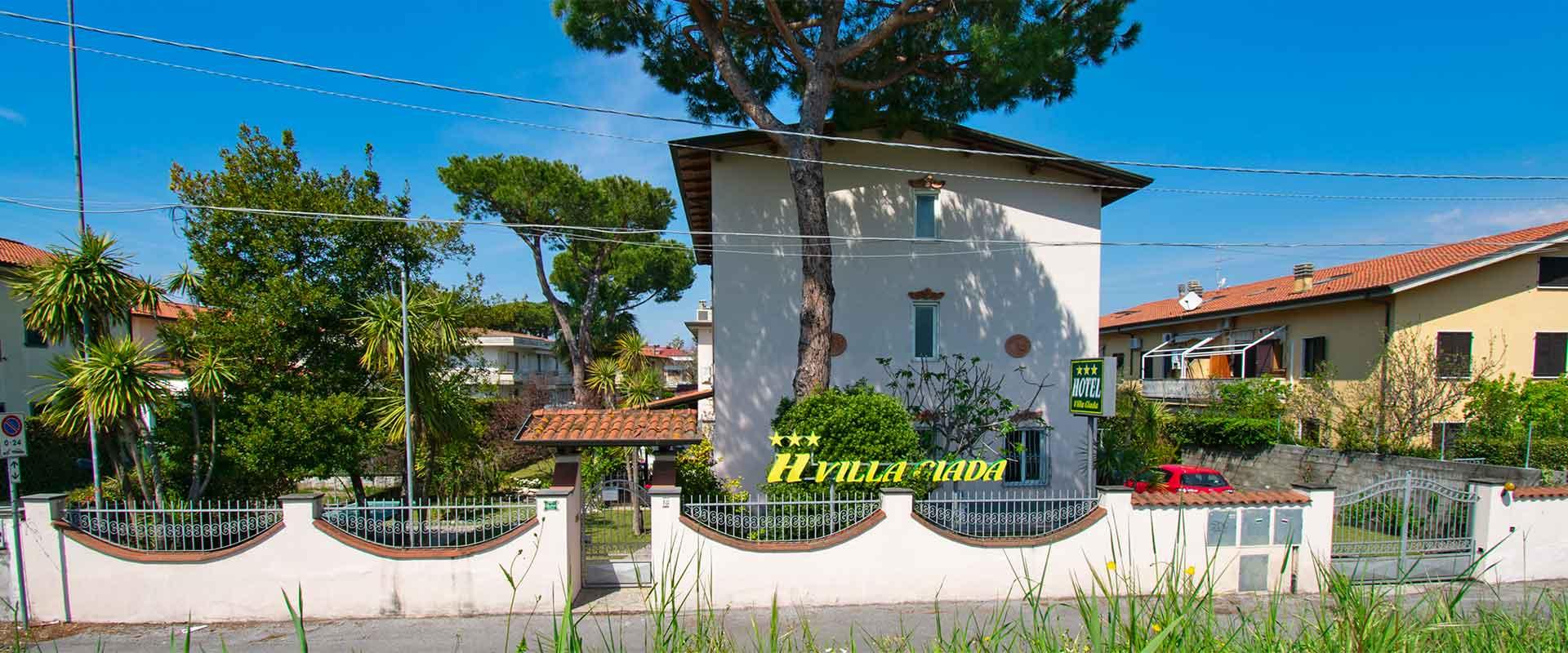 Hotel Villa Giada Marina di Massa, Tuscany