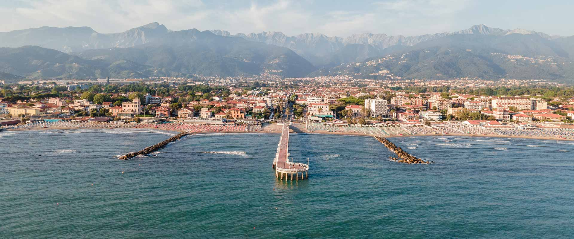 Marina di Massa in Toscana dove si trova Hotel Villa Giada